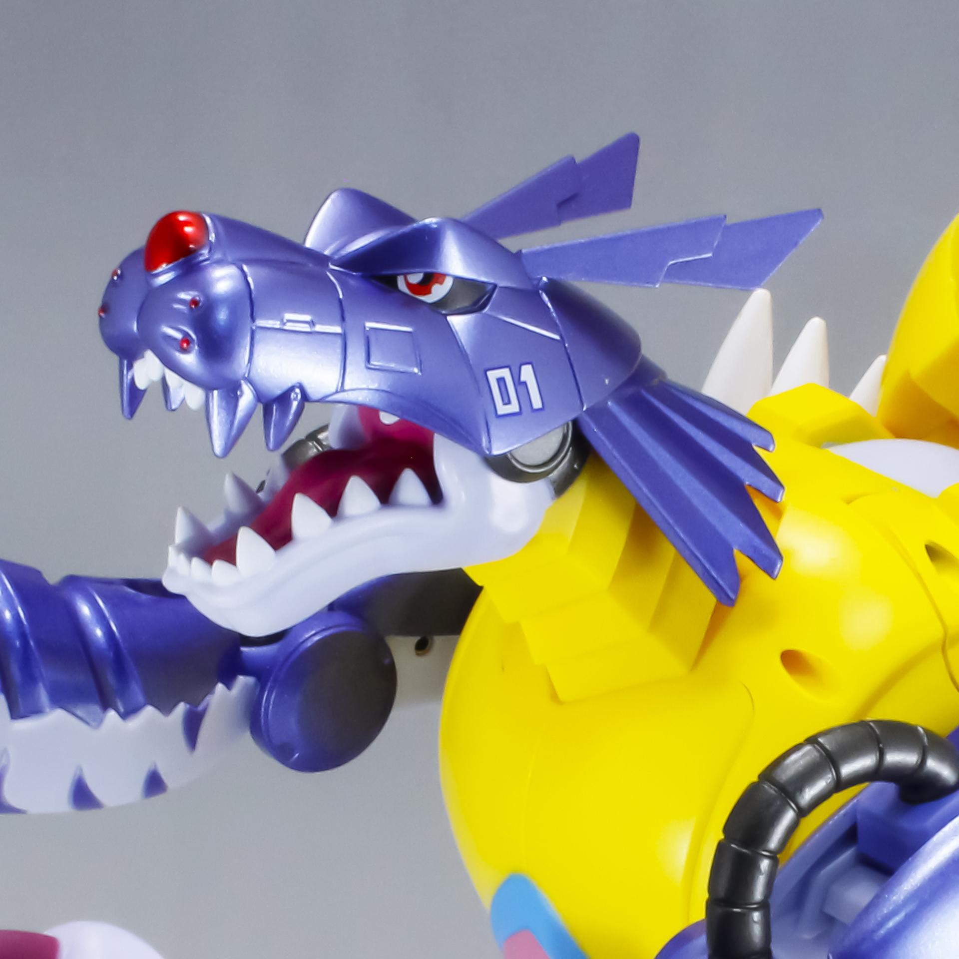 超進化魂 デジモンアドベンチャー 02 メタルガルルモン
