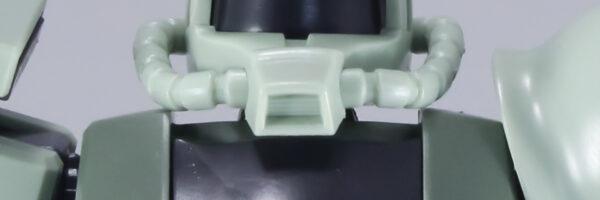 ガンプラ「HGUC No.40 MS-06 量産型ザク」素組みレビュー